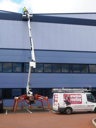High Level Access Equipment by Cardiff Roofing